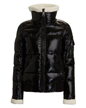 SAM. Nikki Shearling Trimmed Puffer Jacket | INTERMIX®