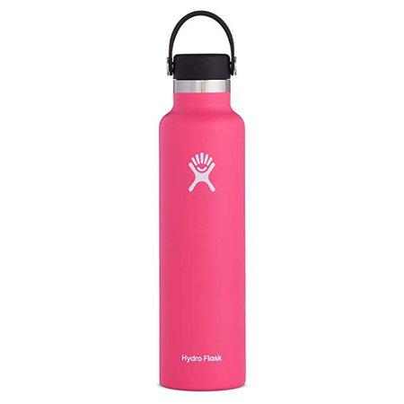 Amazon.com: Hydro Flask Standard Mouth Water Bottle, Flex Cap - Multiple Sizes & Colors: Sports & Outdoors