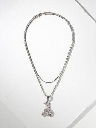 The Silver Cobra Necklace – Vanessa Mooney