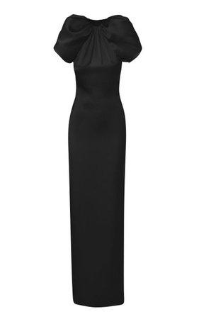 Silk Gown With Open Back By Brandon Maxwell | Moda Operandi