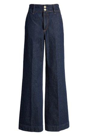 Nobody Denim Francoise Flare Leg Jeans (Luna) | Nordstrom