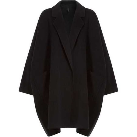 Helmut Lang Wool Cape