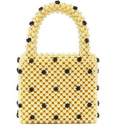 Dolly Small Beaded Tote | Shrimps - Mytheresa