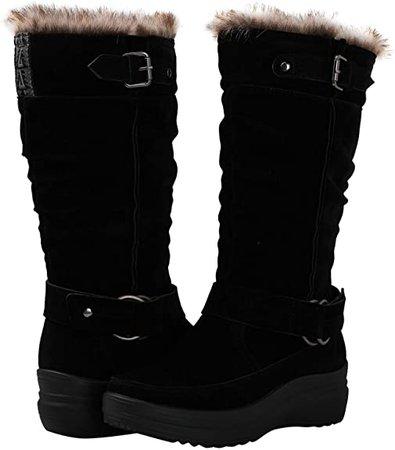 Amazon.com | GLOBALWIN Women's 1828 Fashion Snow Boots (9 M US Women's, 1828Brown) | Snow Boots
