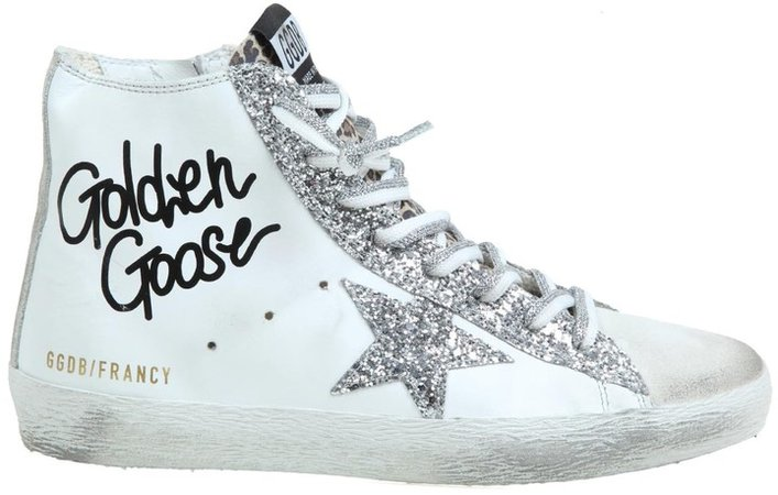 Francy Sneakers In White Leather