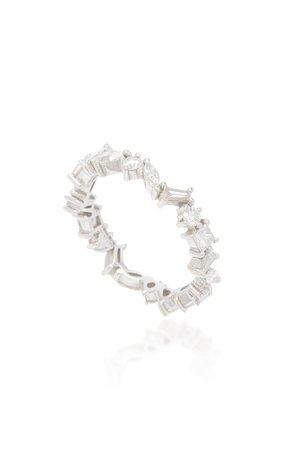 Cascade 18K Gold And Diamond Ring by Rosa de la Cruz | Moda Operandi