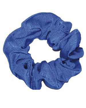 scrunchies blue