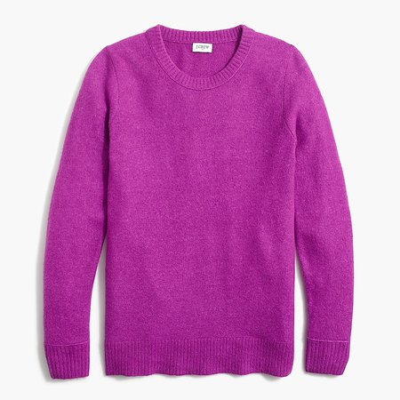 J.Crew Factory: Long-sleeve Crewneck Sweater In Extra-soft Yarn For Women