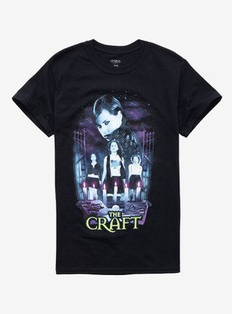 *clipped by @luci-her* The Craft Nancy & Candles Girls T-Shirt
