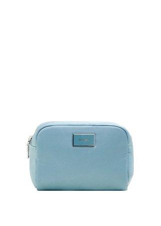 MANGO Zipped cosmetic bag