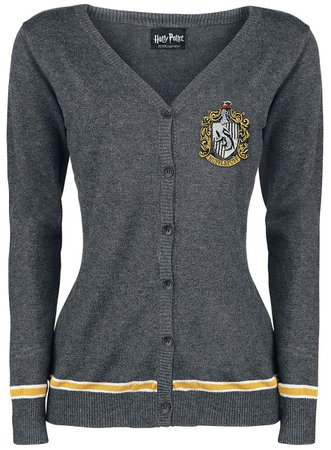 Grey Hufflepuff Sweater