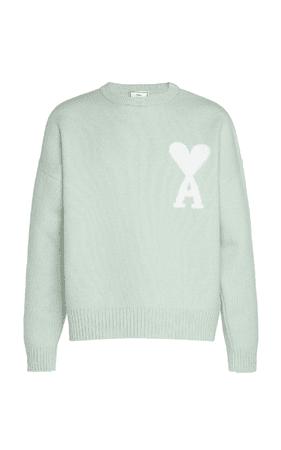 Green Oversized Ami De Coeur Sweater