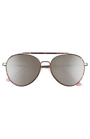 Quay Australia Lickety Split 55mm Aviator Sunglasses | Nordstrom