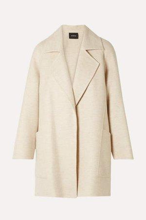 Bessy Cashmere Coat - Cream