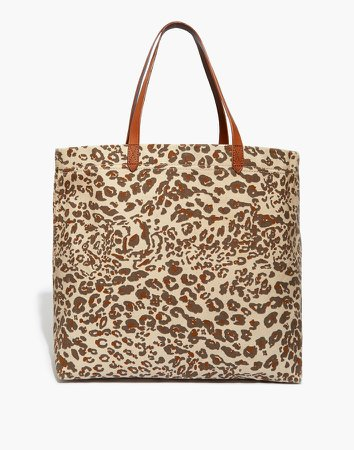 The Canvas Transport Tote: Print Edition