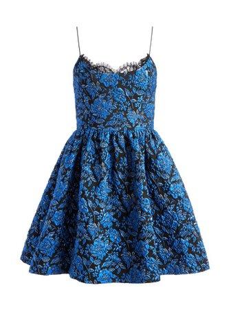 Kendra Floral Mini Dress | Alice And Olivia