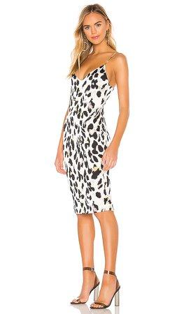 superdown Fierra Midi Dress in Leopard | REVOLVE