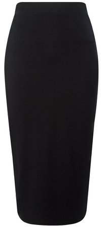 **DP Tall Black Pencil Skirt