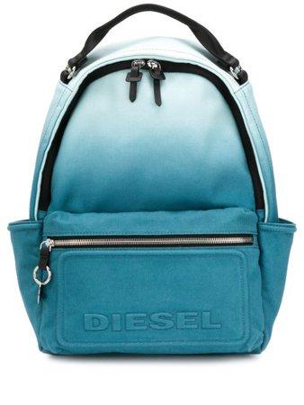 Diesel Faded Canvas Backpack X06803P3187 Blue | Farfetch