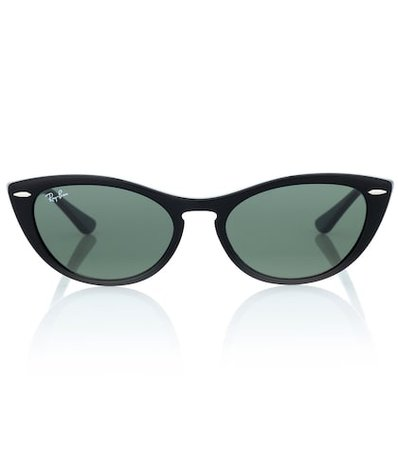 Nina cat-eye acetate sunglasses