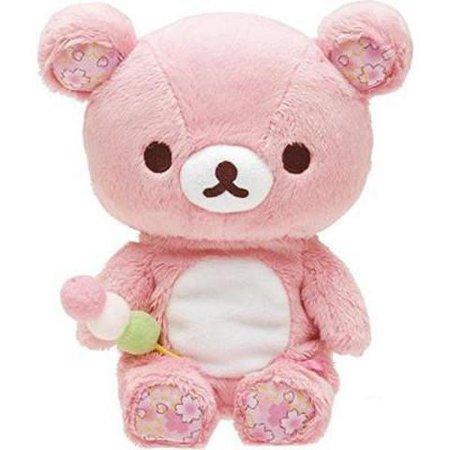 Kawaii Sakura Roze Beer knuffel Poppen Rilakkuma Luiaard Beren Zachte Knuffels Doll Baby Kids Kussen Meisjes Verjaardagscadeaus – Grandado