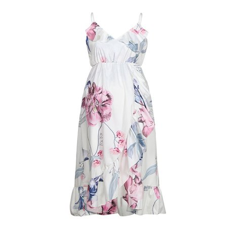 Maternity Dresses Maternity Clothes Pregnancy Dress Pregnant Dress Casual Floral Falbala Pregnants Dress Comfortable Sundress-in Dresses from Mother & Kids on Aliexpress.com | Alibaba Group