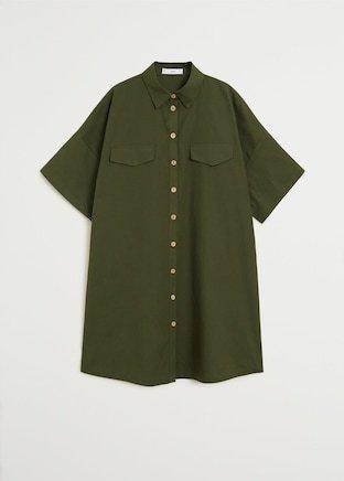 Oversize shirt dress - Woman | Mango South Korea