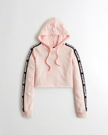 light pink cropped hoodie - Google Search