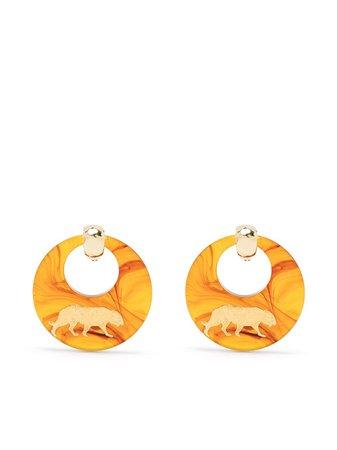 Gas Bijoux Tiger earrings - FARFETCH