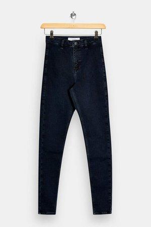 Blue Black Joni Skinny Jeans | Topshop