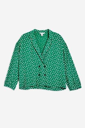 spot shirt - Topshop