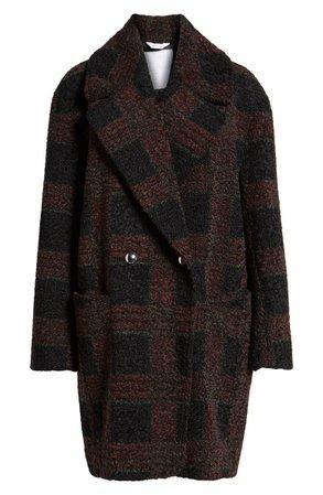 Sosken Glen Plaid Berber Coat   Nordstrom