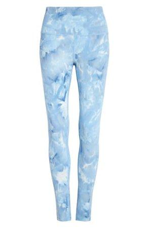 Zella Spray Dye High Waist Leggings | Nordstrom