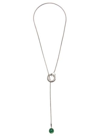 Metallic Olympiah Alverare necklace - Farfetch
