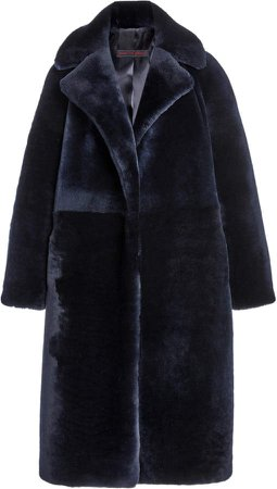 Martin Grant Teddy Bear Shearling Coat