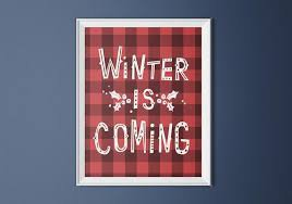 winter tartan quote - Google Search