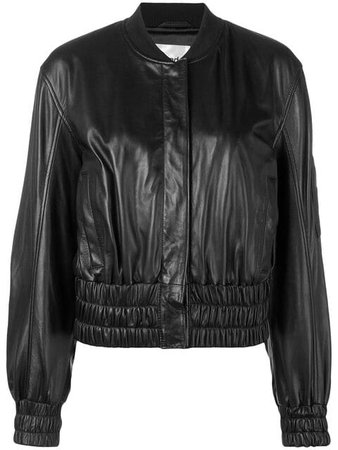 Stand Elasticated Bomber Jacket - Farfetch