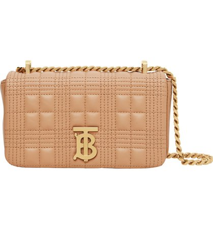 Burberry Mini Lola Quilted Check Leather Bag | Nordstrom