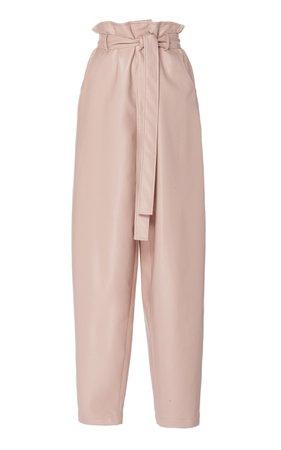 Áeron Sadie High-Rise Paperbag Belted Pants Size: 34
