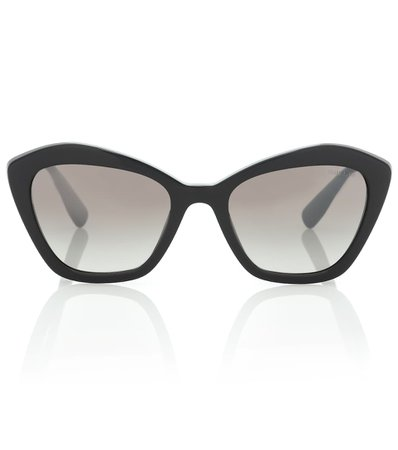 Cat-Eye Acetate Sunglasses - Miu Miu | mytheresa.com