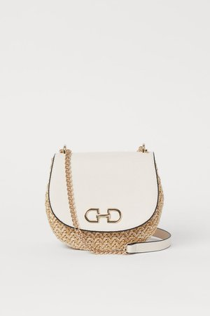 Shoulder Bag - Light beige - Ladies | H&M US