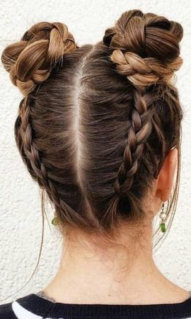 cute girl hair style