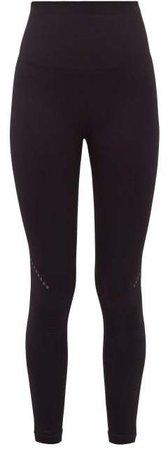 Blackout Technical Jersey Leggings - Womens - Black