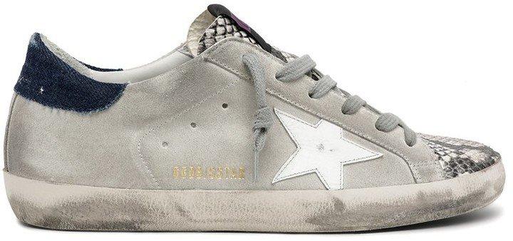 Superstar Sneaker in Rock Snake/Ice/White/Blue