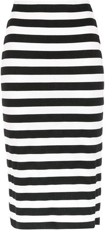 Nk striped midi skirt