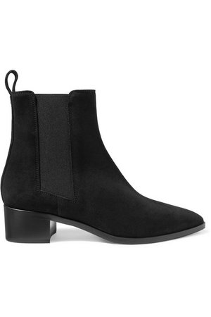 AEYDĒ Lou suede ankle boots