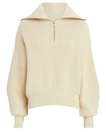 Samsøe Samsøe Elke Half-Zip Turtleneck Sweater | INTERMIX®