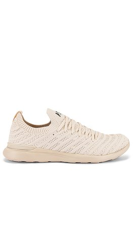 APL: Athletic Propulsion Labs Techloom Wave Sneaker in Beach & Black | REVOLVE