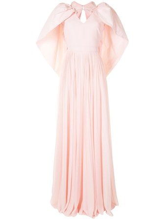 Givenchy Pleated Maxi Dress - Farfetch