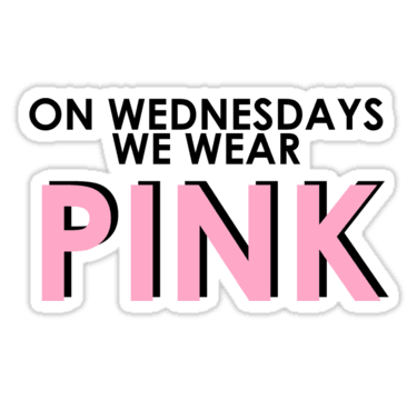 On Wednesdays We Wear Pink on We Heart It